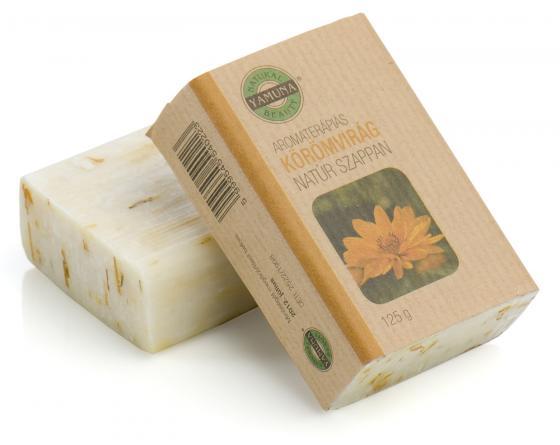 Yamuna - Měsíčkové mýdlo 125g - mýdlo lisované za studena