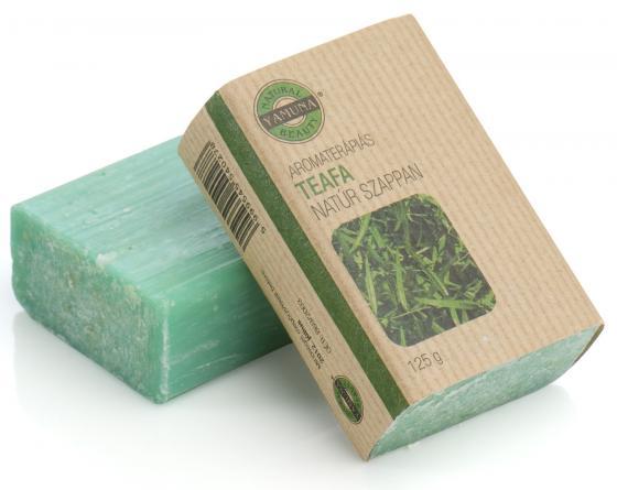 Yamuna - Mýdlo z čajovníku 125g - mýdla lisovaná za studena