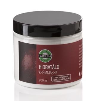 Hydratační krémová maska s kyselinou hyaluronovou a třešňovým olejem 200 ml