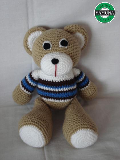 Medvídek Béďa - z ruční dílny Yamuna