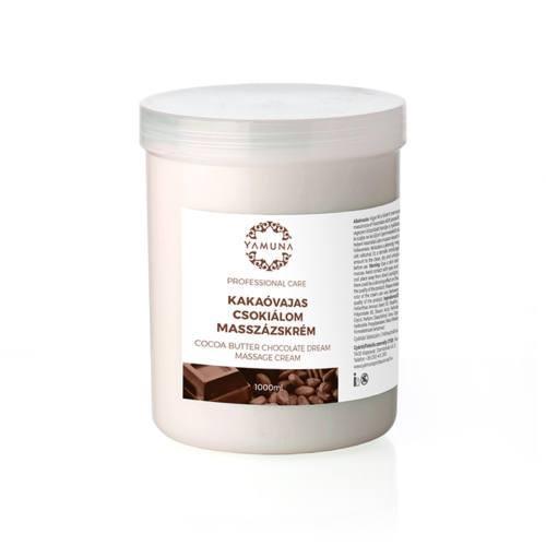 Yamuna - Masážní krém s vůní čokolády 1000ml