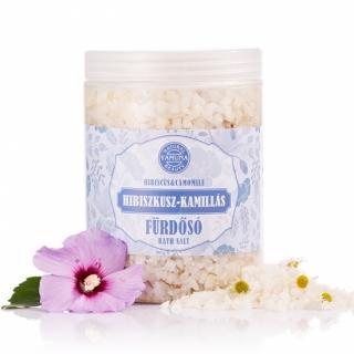 Yamuna - Ibišek s heřmánkem 1000g - mořská koupelová sůl