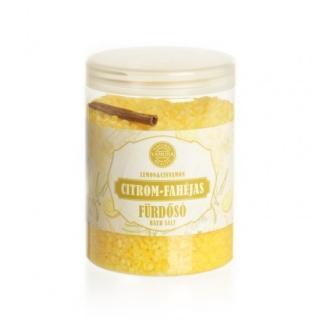 Yamuna - Citrón-skořice 1000g - mořská koupelová sůl